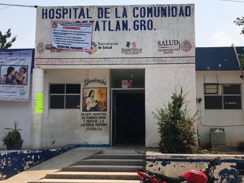 Personal de salud de Petatlán considerado de segunda línea Covid