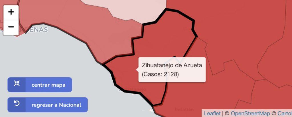 Zihuatanejo no reporta nuevos casos de Covid-19