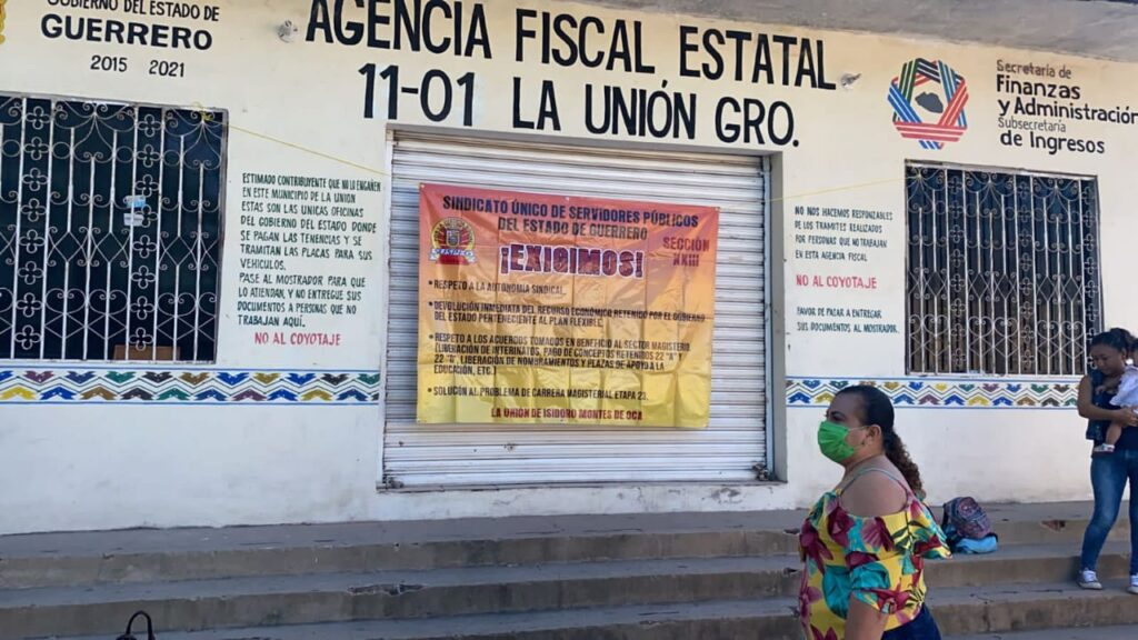 SUSPEG toma Delegación de Sefina en La Unión
