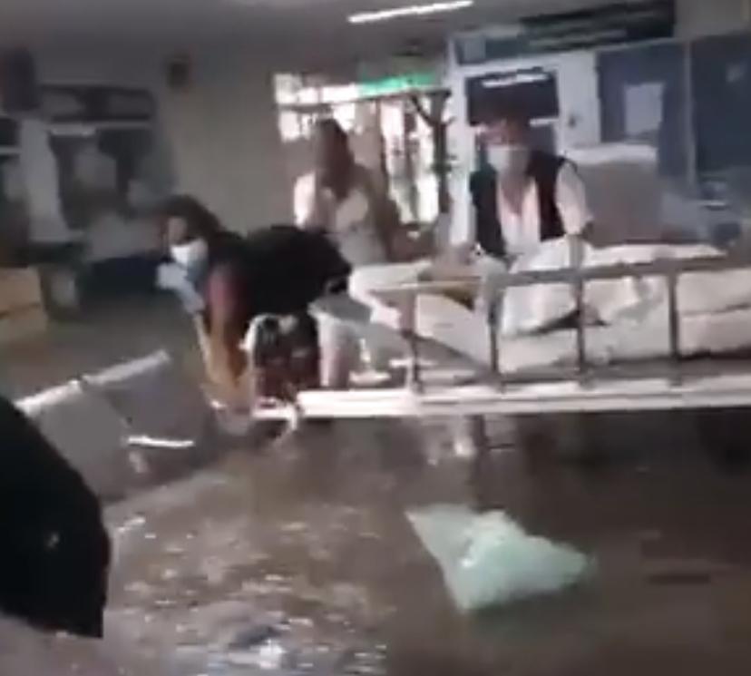 Confirman muerte de 16 pacientes por inundación en hospital de Tula, Hidalgo