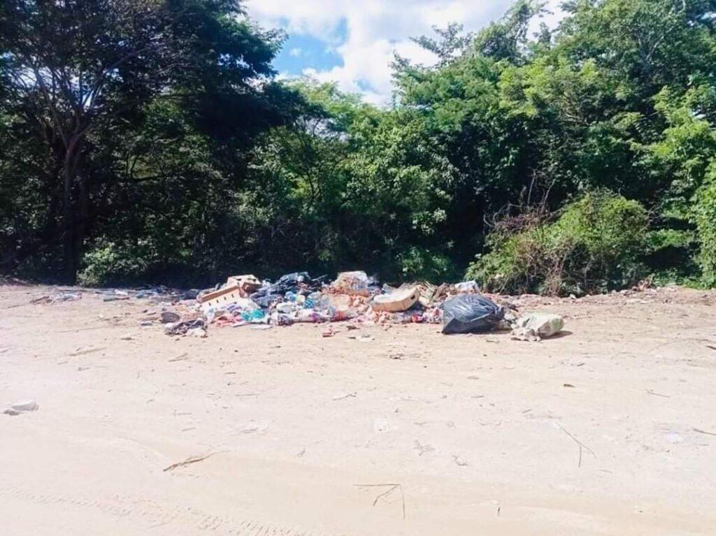 Denuncian basurero clandestino en El Mirador